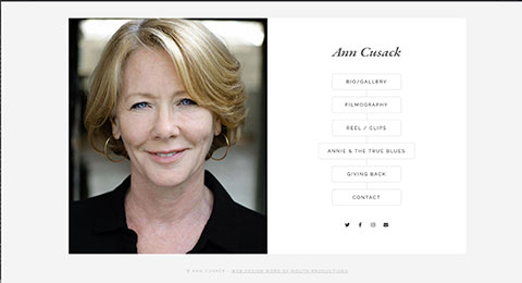 Actor and Singer Ann Cusack