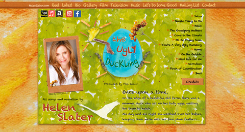 Helen Slater's The Ugly Duckling
